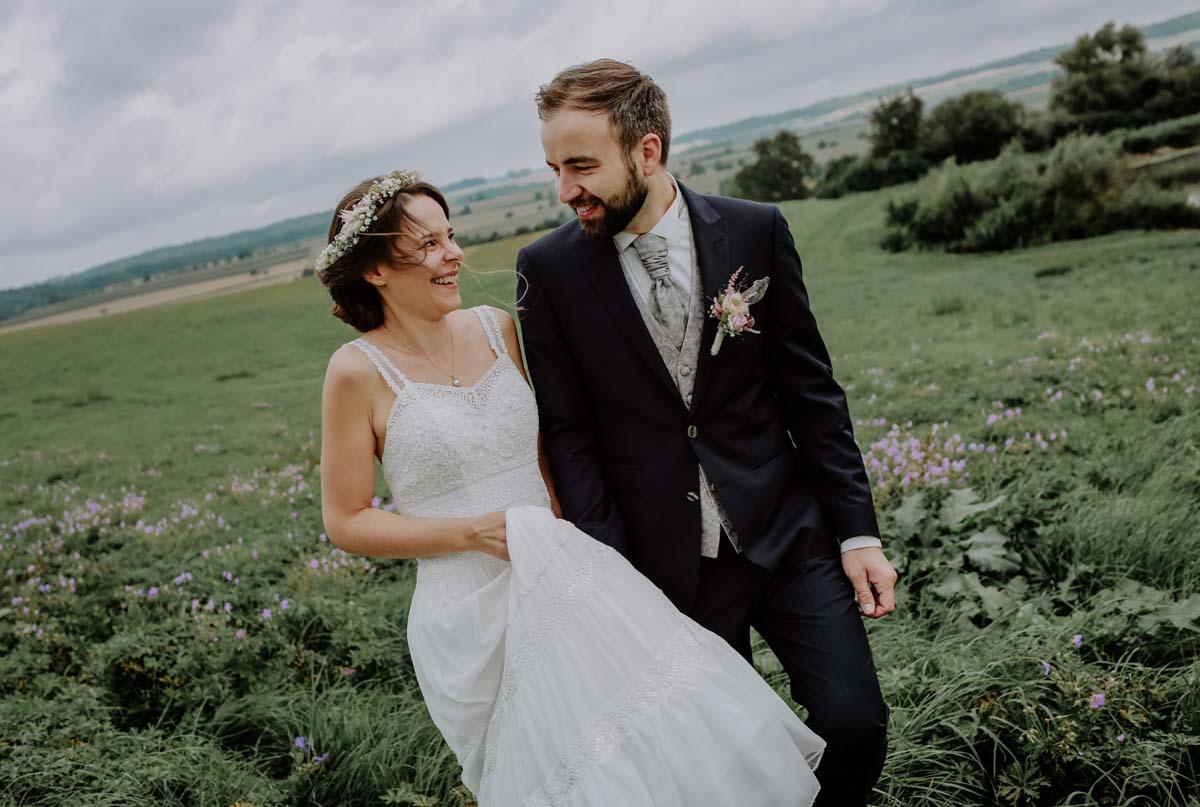 Brautpaarshooting am See