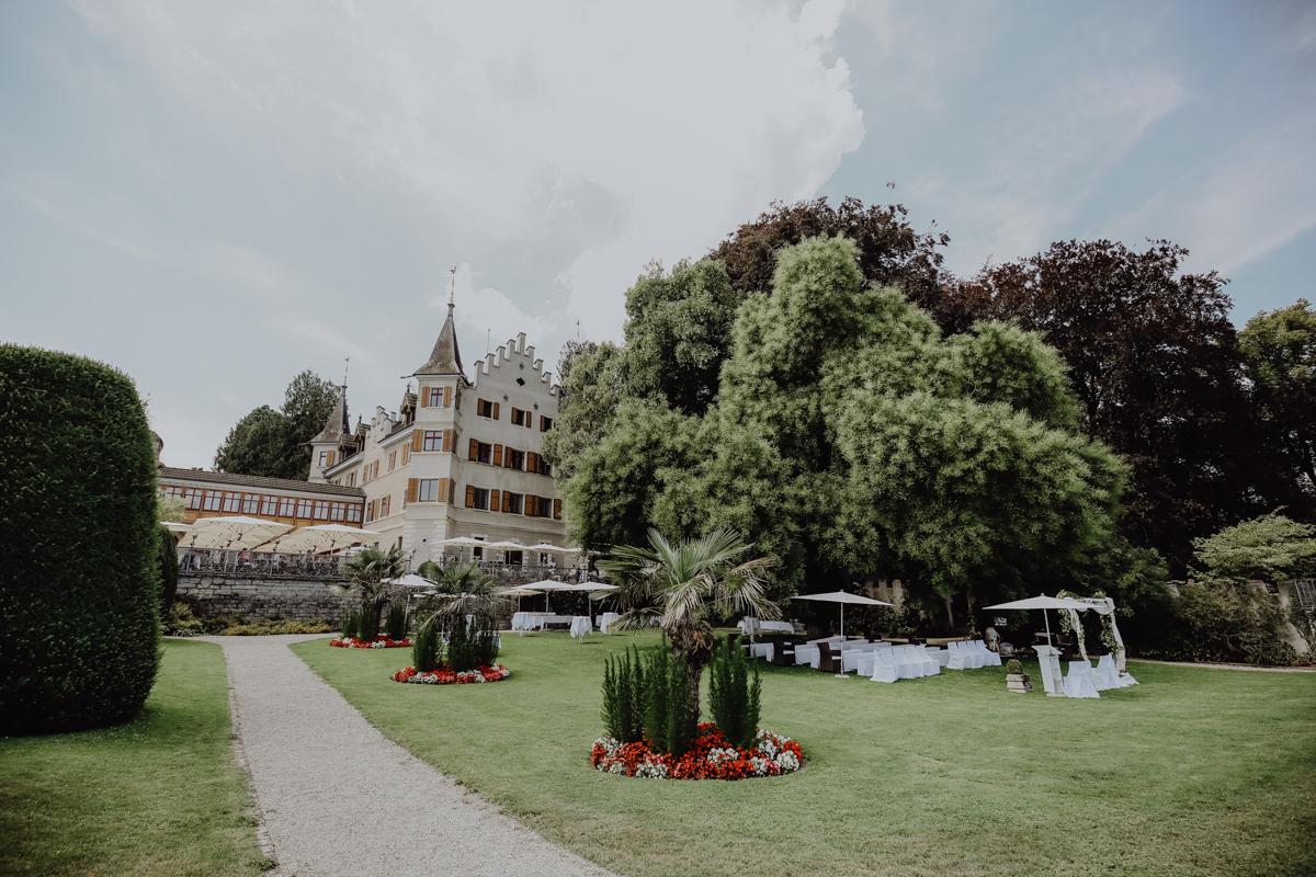 Schloss Seeburg Kreuzlingen - Hochzeitsfotograf