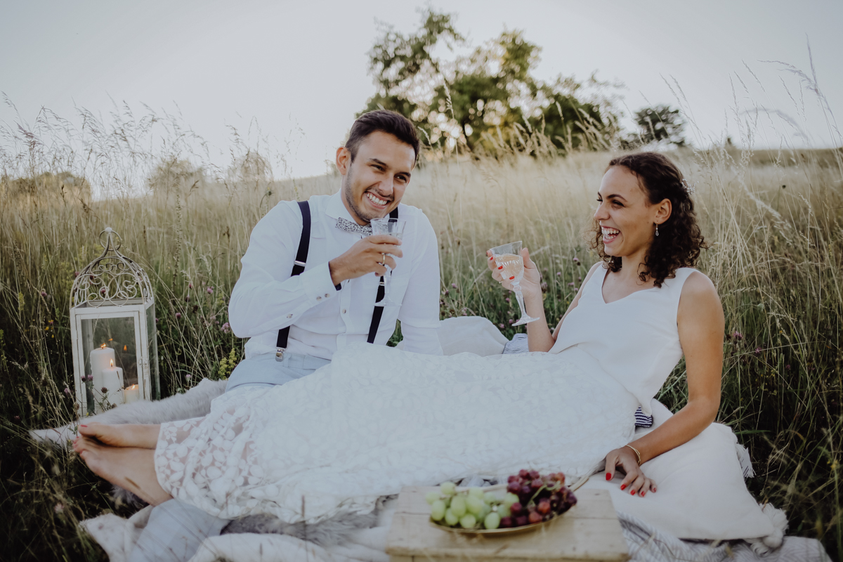 Gartenhochzeit - Hochzeitsfotograf Schwäbisch Hall